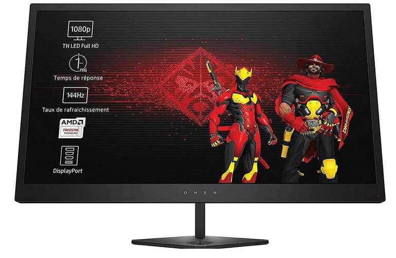 """OMEN by HP 25 - 24,5"""" Monitor mit 144 Hz & AMD FreeSync für 155,62€ inkl. Versand (statt 173€)"""