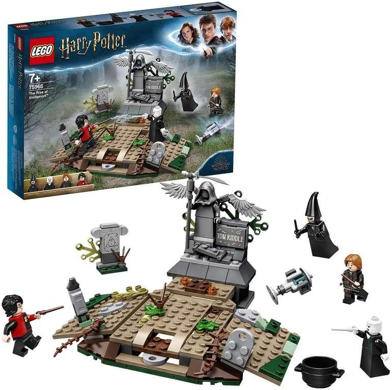 Lego Harry Potter 75965 - Der Aufstieg von Voldemort für 13,49€ (statt 17€) - Thalia Club + Newslettergutschein