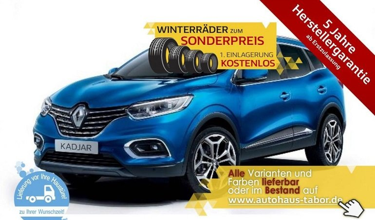 Renault Kadjar TCe 140 GPF Business Edition Leasing 4