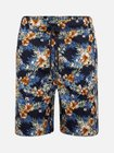 Urban Classics Shorts 'Pattern Resort' in blau/gelb für 15,22€ (statt 25€)