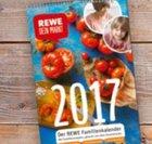 Gratis Rewe Familienkalender für 2017: Ab sofort in den Märkten verfügbar