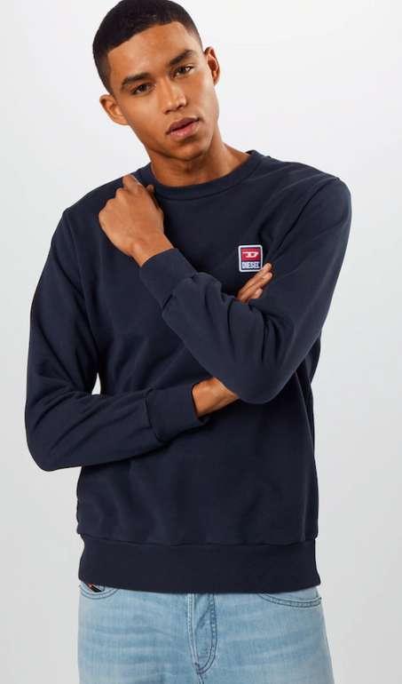 Diesel Sweatshirt in dunkelblau für 34,95€ inkl. Versand (statt 50€)