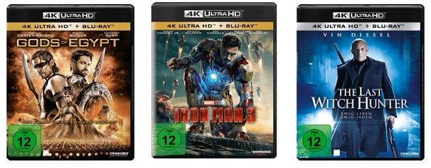 Saturn: 3 Blu-rays aus dem 4K Sortiment für nur 50€ - über 200 zur Auswahl!