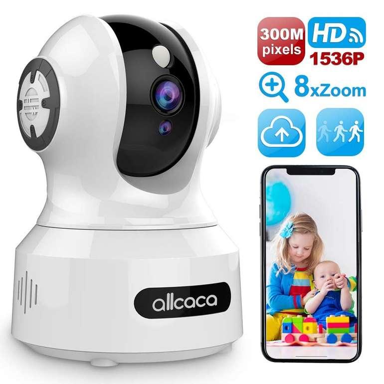Allcaca IP WLAN Überwachungskamera (Bewegungserkennung, Nachtsicht) für 22€ inkl. Versand (statt 40€)