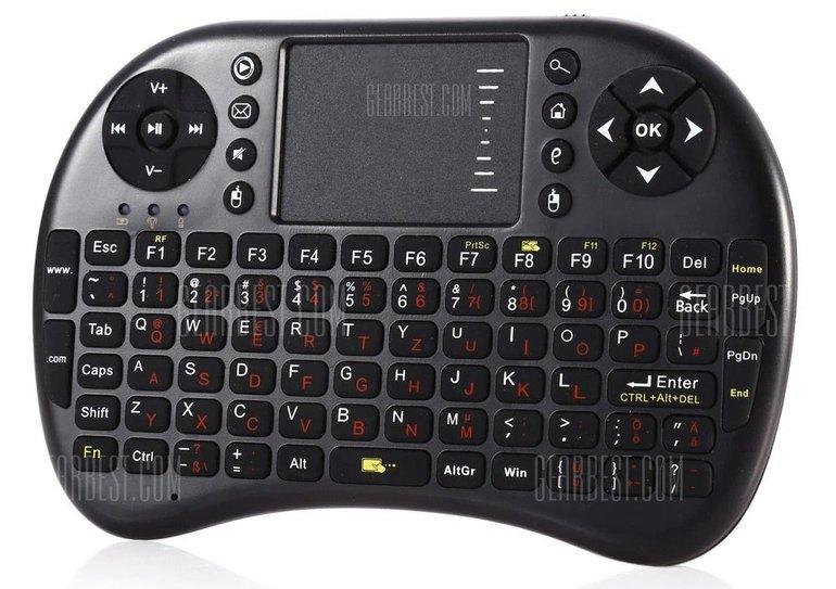 UKB-500-RF 2.4G Wireless German Keyboard für 5,53€ inkl. Versand