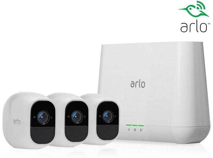 Arlo VMS4330P Pro 2 Sicherheitssystem (Basisstation + 3 Kameras) für 475,90€ (statt 605€)