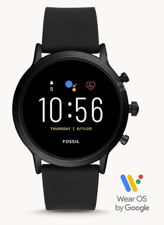 """Fossil Smartwatch """"The Carlyle HR 5. Generation"""" (FTW4025) für 159€ inkl. Versand (statt 222€)"""