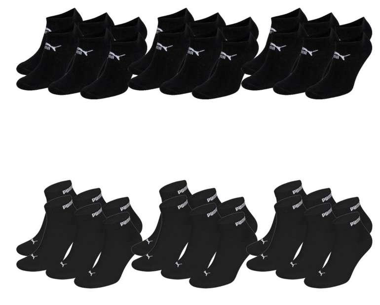 9x Puma Quarter Clyde Unisex Socken + 9x Sneaker Clyde Socken + 1 Paar Footies für 26,99€ inkl. Versand