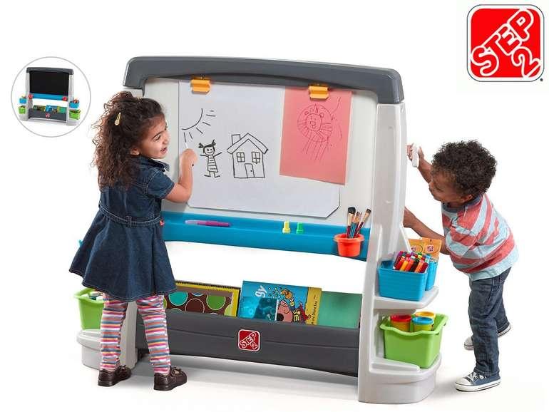 """Step2 Kinder-Maltafel """"Jumbo Art Easel"""" (Kreidetafel & Whiteboard) für 78,90€"""
