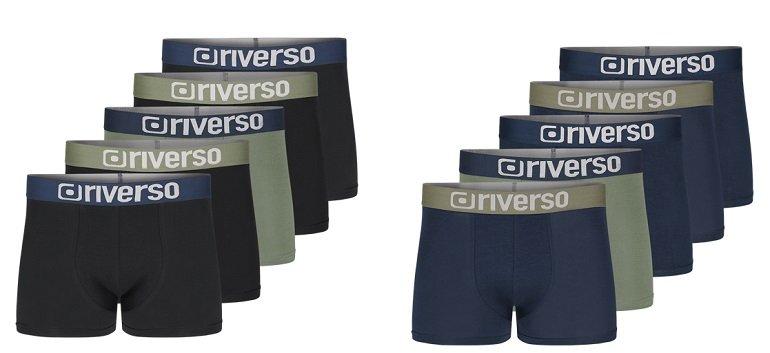 5er Pack riverso RIVJames Herren Boxershorts 2