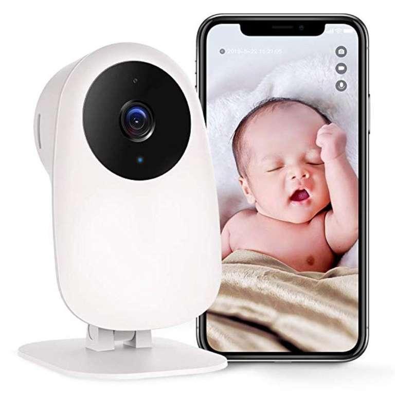 Nooie WLAN IP Überwachungskamera mit App und Bewegungserkennung für 19,99€