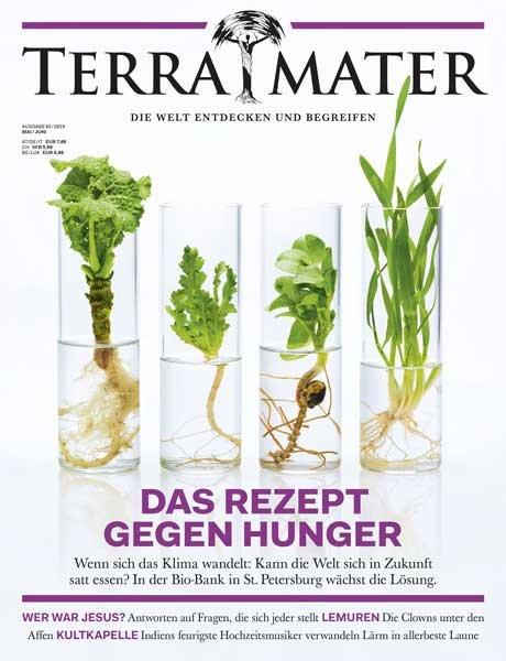 """Zeitschriften Abo: 6 Ausgaben """"Terra Mater"""" für 12€ (statt 39€)"""