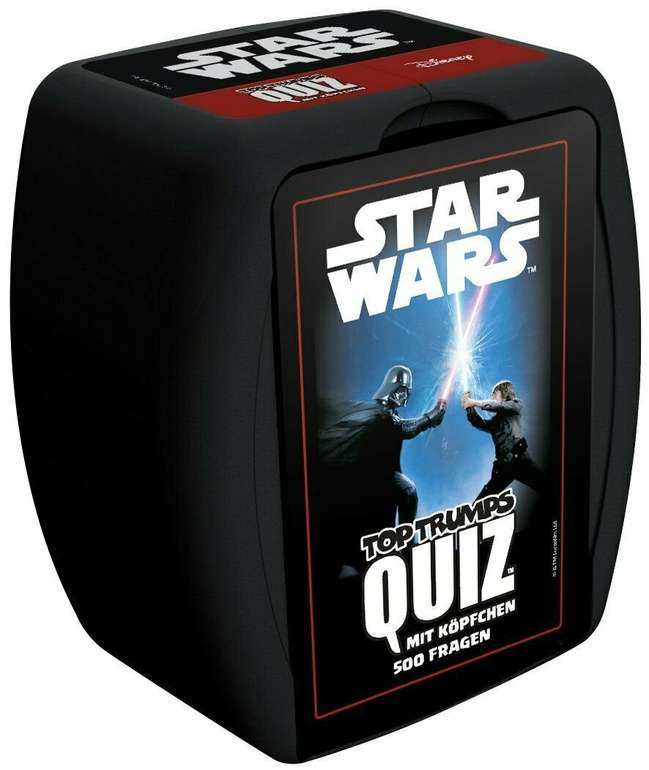 Top Trumps Quiz Star Wars Quiz für 14,99€ (statt 20€)