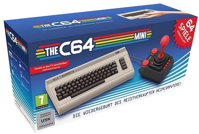 Offiziell lizenzierte Nachbau des Commodore 64 - der C64 mini zu 31€ Paydirekt!