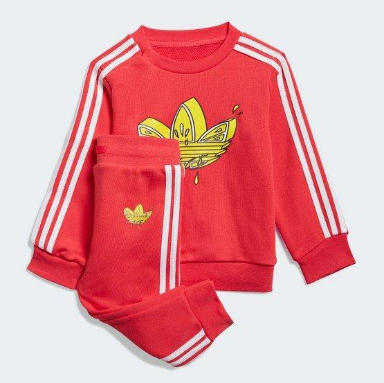 Adidas Graphic Trefoil Kinder Set in Pink / Weiß für 22,95€ inkl. Versand (statt 40€) - Creators Club!