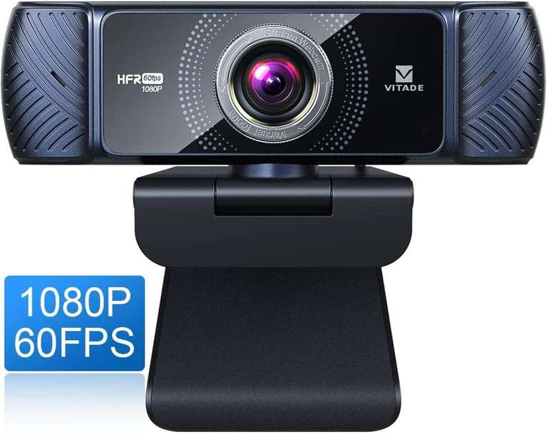 Vitade 1080P Webcam mit Mikrofon für 26,99€ inkl. Versand (statt 46€)