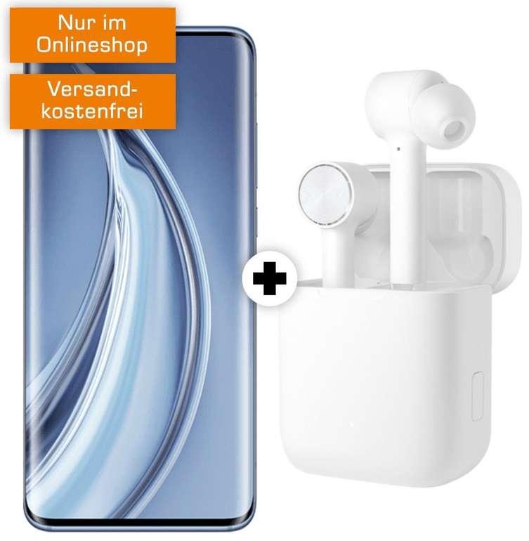 Xiaomi Mi 10 Pro + Xiaomi Mi Airdots (28,27€) + Debitel Vodafone (18GB LTE bis 50Mbit, Allnet/SMS) für 36,99€ mtl.