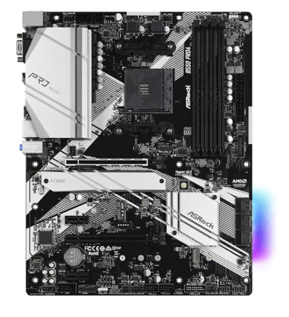 AsRock B550 Pro4 Mainboard (AM4, AMD B550, ATX) für 99€inkl. Versand (statt 123€)