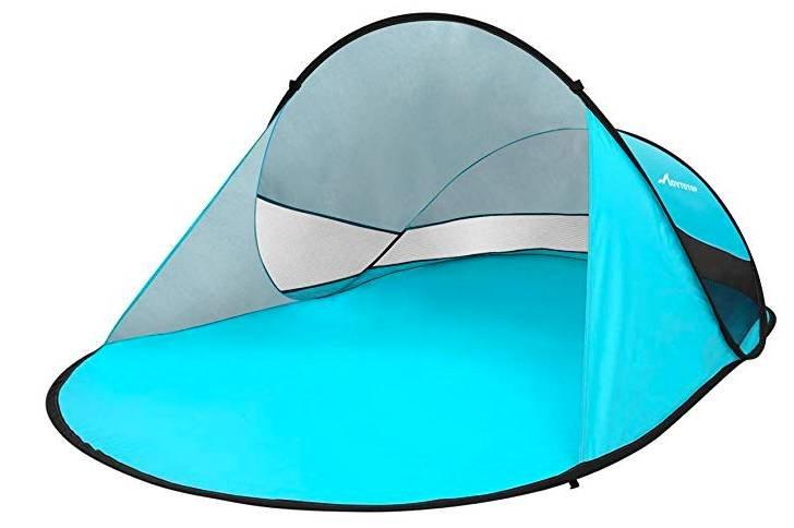 Movtotop Strandmuschel Pop Up für 2-3 Personen für 19,99€ inkl. Versand