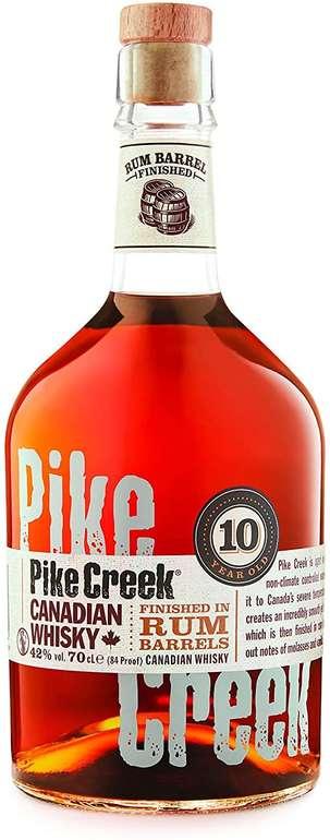 Pike Creek 10 Jahre Canadian Whisky (1 x 0,7 l)  für 18,23€ inkl. Versand (statt 30€) - Prime!