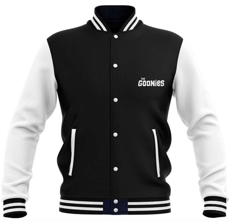The Goonies Bundle: Collegejacke & T-Shirt für 26,99€ (statt 49€)