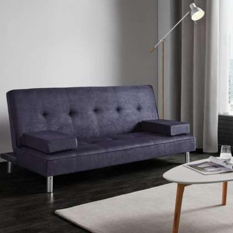 Bessagi Home 'Esther' Sofa mit Schlaffunktion in Grau/Blau für nur 69,30€ inkl. Versand (statt 200€)