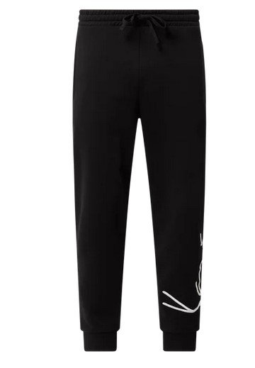 Karl Kani Sweatpants mit Logo in Grau / Schwarz für 29,99€ inkl. Versand (statt 50€)