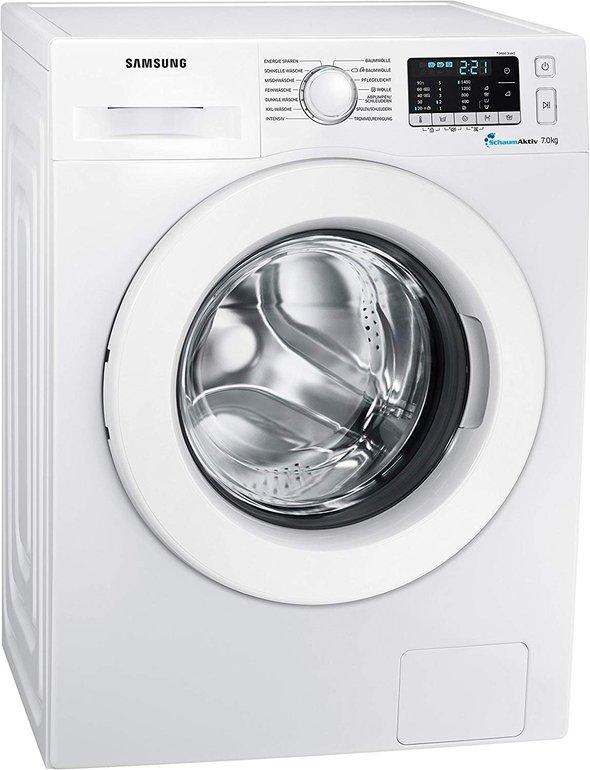 Samsung WW70J5585MW/EG Waschmaschine Frontlader ( 7kg, Aquastop, A+++) für 299,70€ inkl. Versand (statt 388€)