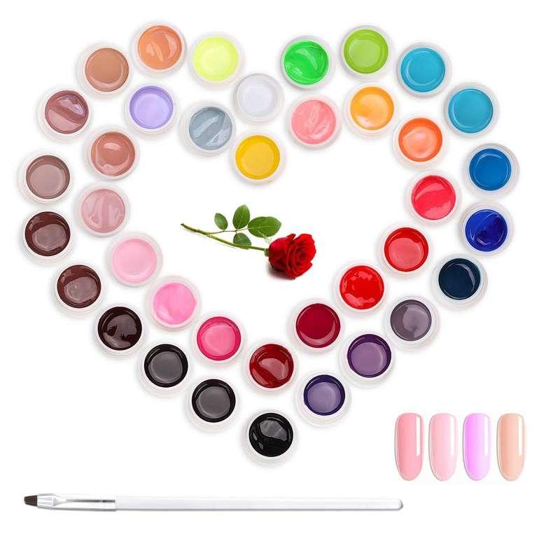 Janolia Gel Nagellack in 36 Farben für 12,97€ inkl. Prime Versand (statt 20€)