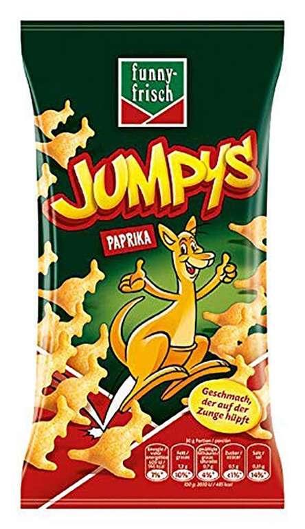 20er Pack funny-frisch Jumpys Paprika (20 x 75 g) für 16,40€ (statt 28€) - Prime!