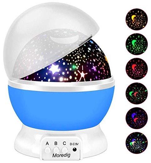 Moredig Sternenhimmel-Projektor mit 8 Farben für 5,99€ inkl. Versand (Prime)