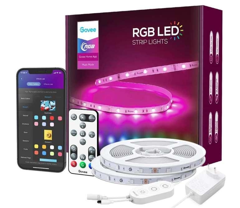 Govee 15m Alexa LED Streifen für 29,99€ inkl. Prime Versand (statt 44,99€)