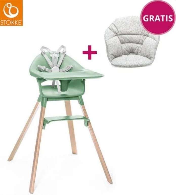 Stokke Clikk Hochstuhl + Bio-Baumwoll-Sitzkissen für 169€ inkl. Versand (statt 198€)