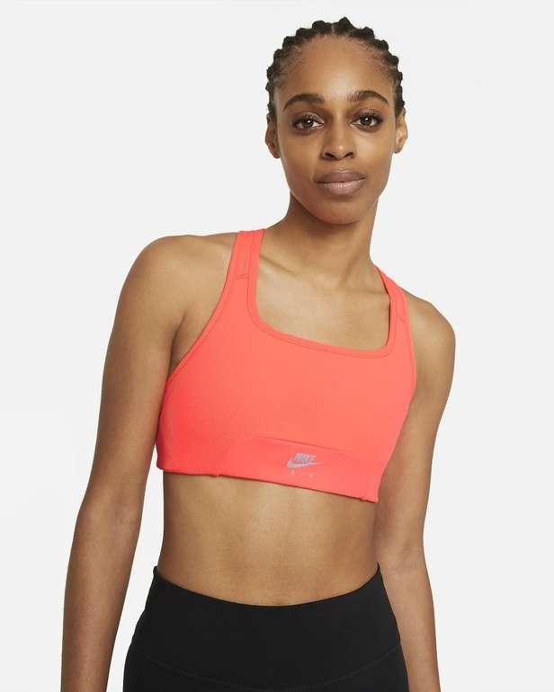 Nike Air Dri-Fit Swoosh Sport-BH (mittlerer Halt) für 19,58€ (statt 25€) - Nike Membership!