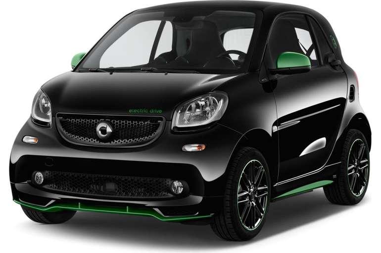 Smart ForTwo EQ Elektro-Fahrzeug mit 82 PS für 75€ mtl. Netto im Gewerbeleasing – LF: 0.37
