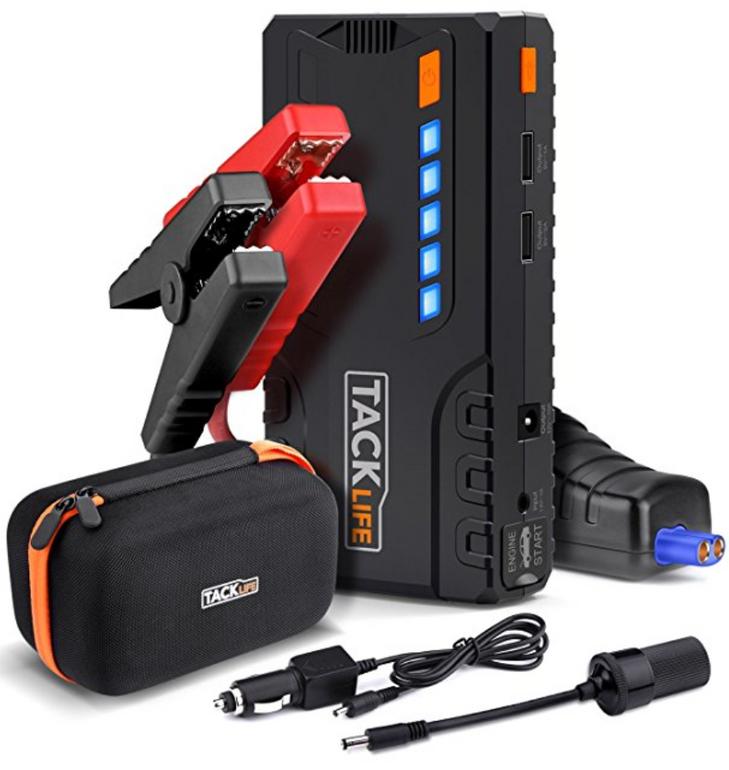 Tacklife T6 Auto Starthilfe Powerbank 16.500 mAh für 53,89€ inkl VSK (statt 70€)