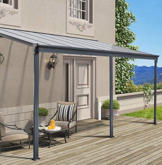 Home Deluxe 9762 Terrassenüberdachung 312 x 226/278 x 303cm für 608,85€ (statt 667€)