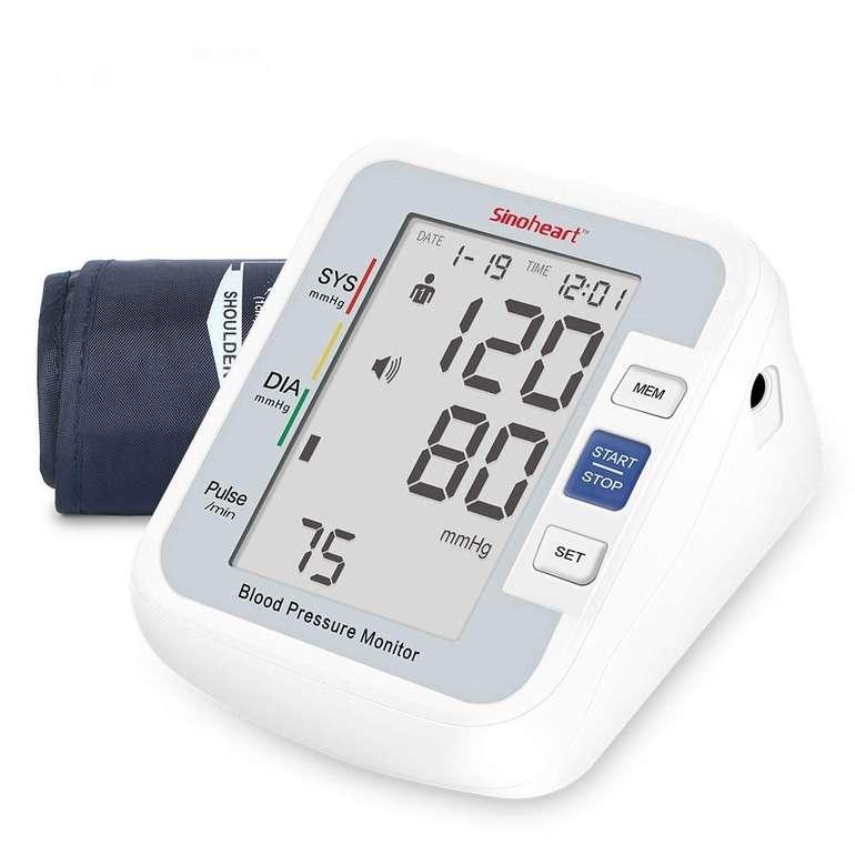 Sinoheart A801 Blutdruckmessgerät mit Sprachausgabe für 18,99€ inkl. Versand (statt 28€)