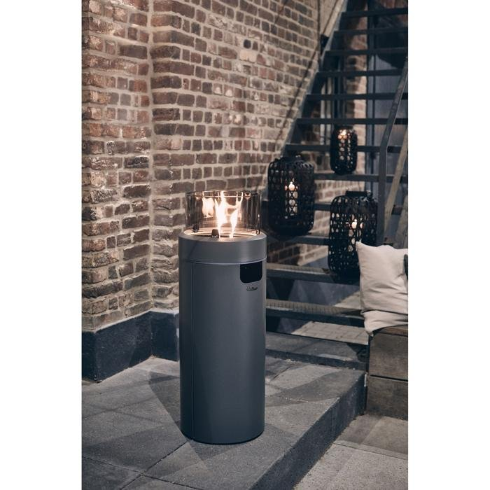 "Enders Gas-Feuerstelle ""Nova LED L"" in grau (Ø 36 x 102 cm) für 149,99€ inkl. Versand (statt 167€)"