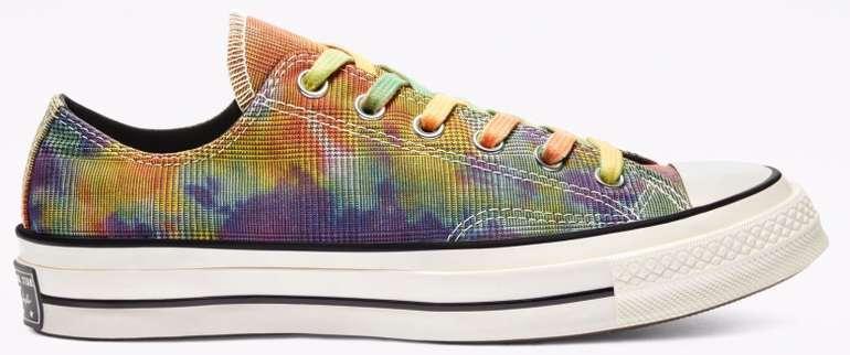 Converse Tie Dye Plaid Chuck 70 Low Top Sneaker für 42,47€ inkl. Versand (statt 55€)