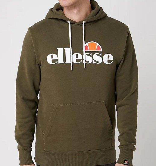 Ellesse Hoodie mit Logo-Print für nur 32,99€ (statt 55€)
