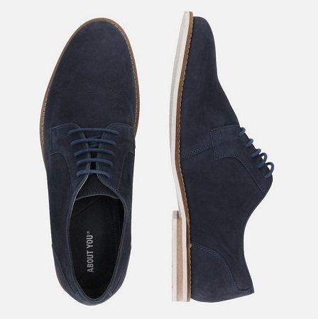 About You Schuhe & Sneaker im Sale + 15% Extra, z.B. Schnürschuhe Jasper für 23€