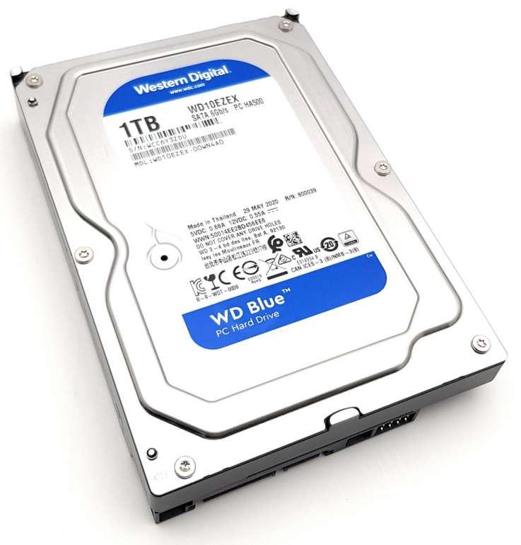 WD Blue 1TB interne Festplatte HDD 3.5 Zoll (8,9 cm) für 29,99€inkl. Versand (statt 39€)