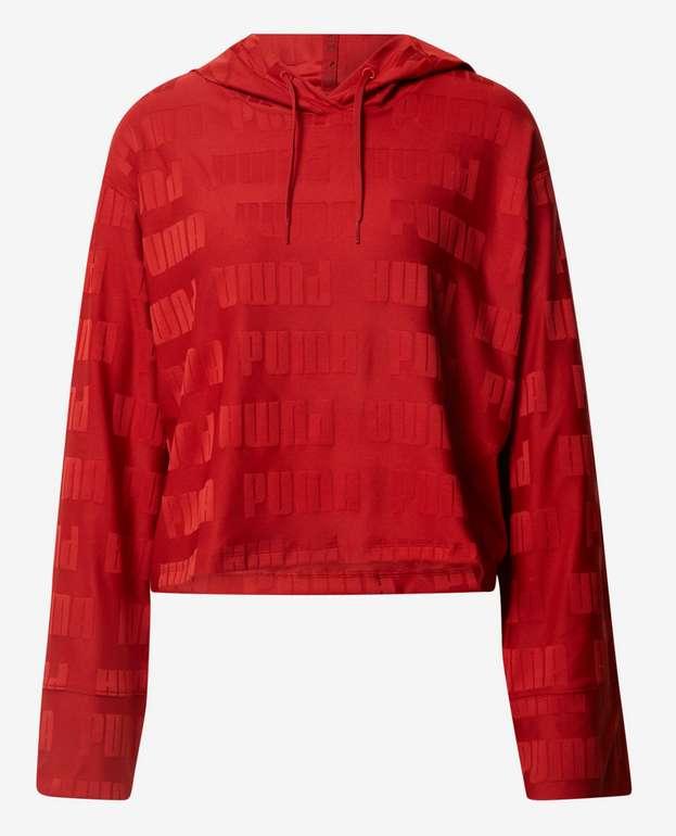 """Puma Sportsweatshirt """"Train First Mile"""" in rot für 15,90€ inkl. Versand(statt 28€)"""