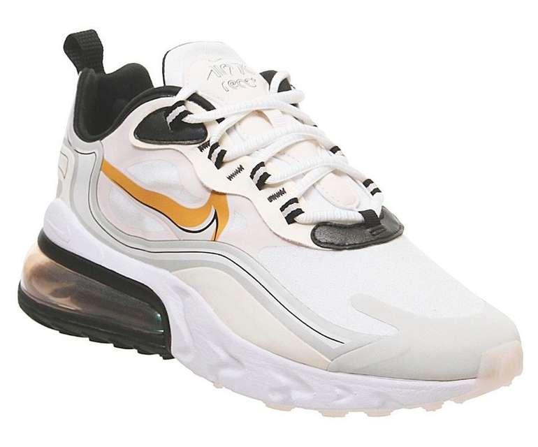 Nike Air Max 270 React Spruce Amber Unisex Sneaker für 82€ inkl. Versand (statt 111€)