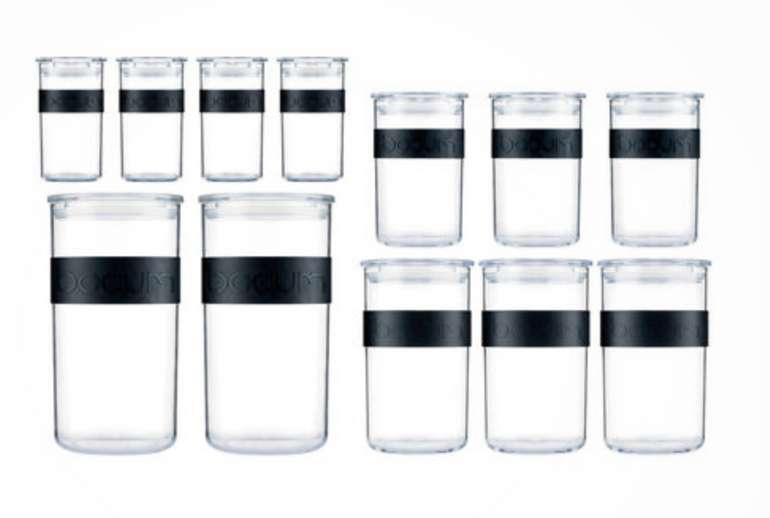 Bodum Vorratsdosen-Set PRESSO, 12-teilig für 31,99€ inkl. Versand (statt 40€)