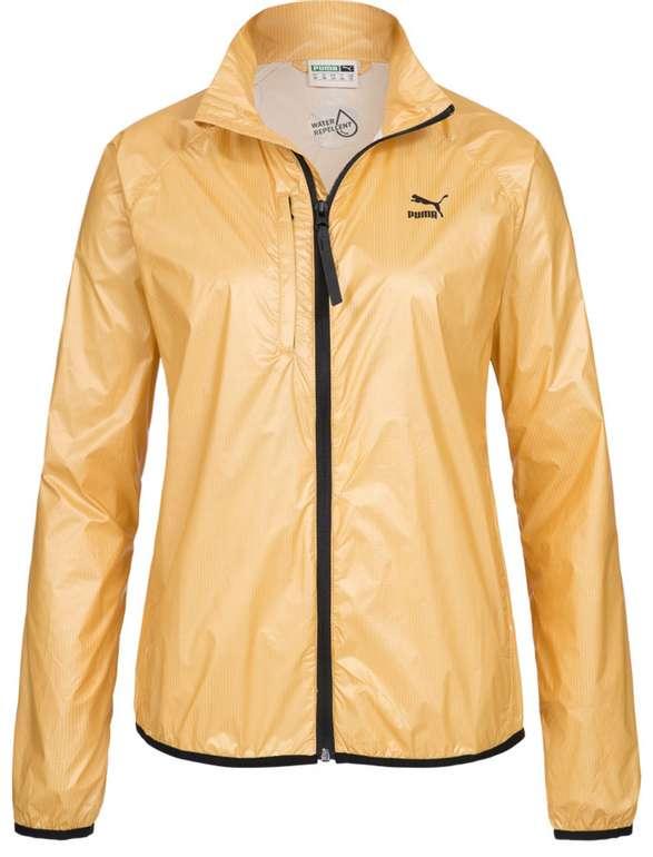 Puma Gold Wind Runner Damen Windbreaker in Gold (570387-16) für 13,85€ inkl. Versand (statt 19€) - nur S!