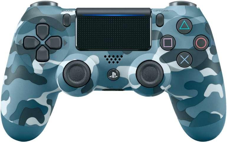 "Sony DualShock 4 Wireless Controller V2 in ""blue camouflage"" für 43,98€ inkl. VSK"