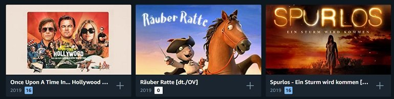 Amazon Leihfilme Rabatt