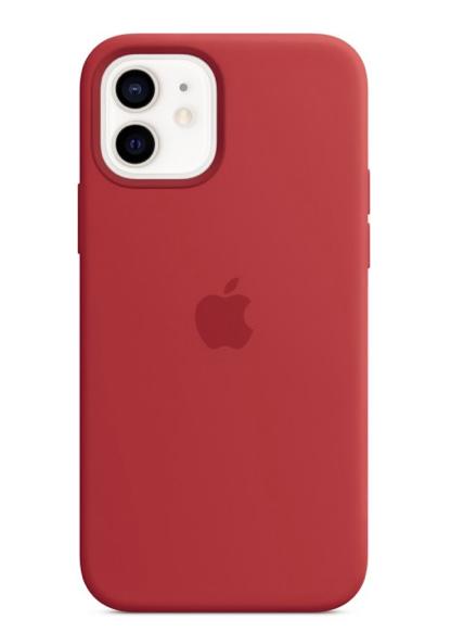 Apple Silikon Case mit MagSafe (PRODUCT)RED für iPhone 12/12 Pro für 33,99€ inkl. Versand (statt 47€)